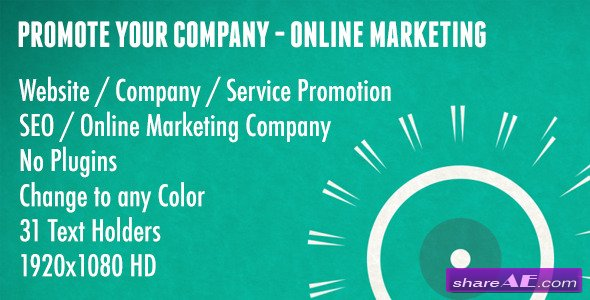 Promote Your Company - Online Marketing - After Effects Project (Videohive)