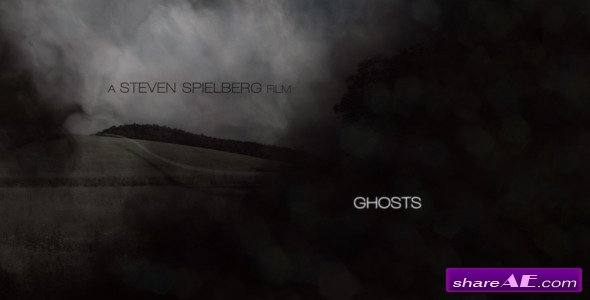 Project Ghosts - After Effects Project (Videohive)
