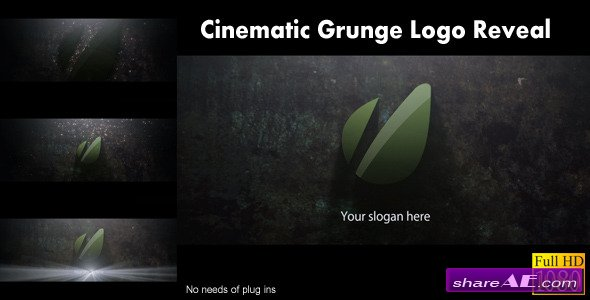 Cinematic Grunge Logo Reveal - After Effects Project (Videohive)