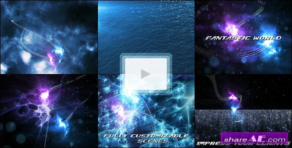 Abyss Creatures Trailer - After Effects Project (VideoHive)