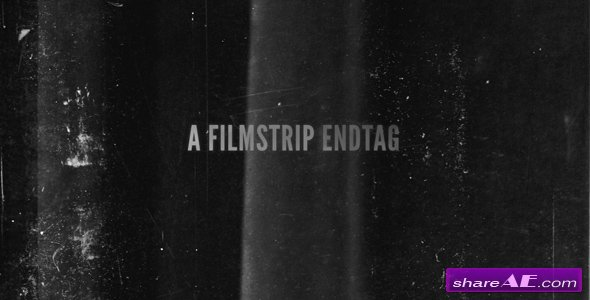Filmstrip Endtag - After Effects Project (VideoHive)