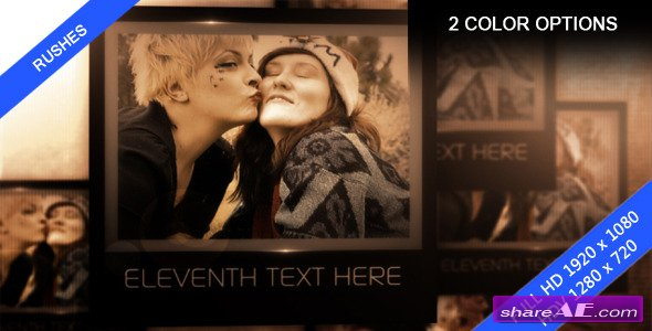 Personal Memories - Image/video Presentation - After Effects Project (Videohive)