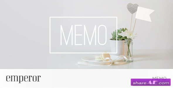 Memo - After Effects Project  (Videohive)