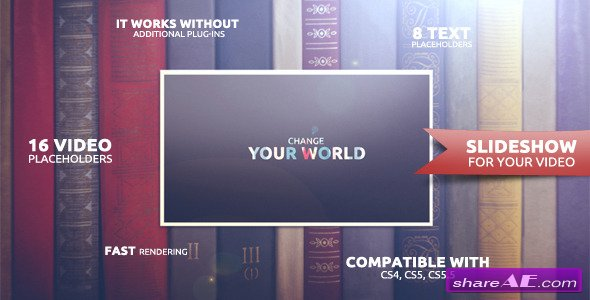 Change Your World - After Effects Project (Videohive)