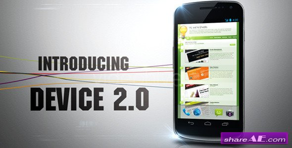 Device 2.0 - After Effects Project (Videohive)