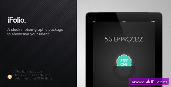 iFolio: Portfolio - After Effects Template Project (Videohive)