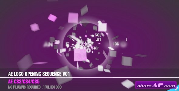 AE CS3 - Logo Opening Sequence V01 - After Effects Project (Videohive)