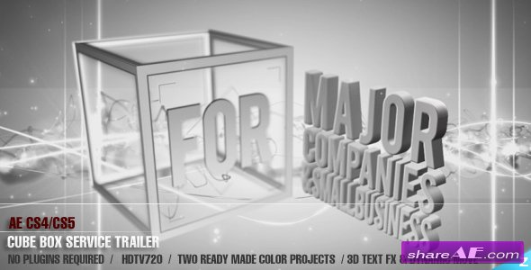 AE CS4 - Box Service Trailer - After Effects Project (Videohive)