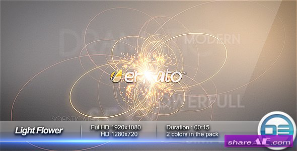 Light Flower Intro - After Effects Project (Videohive)