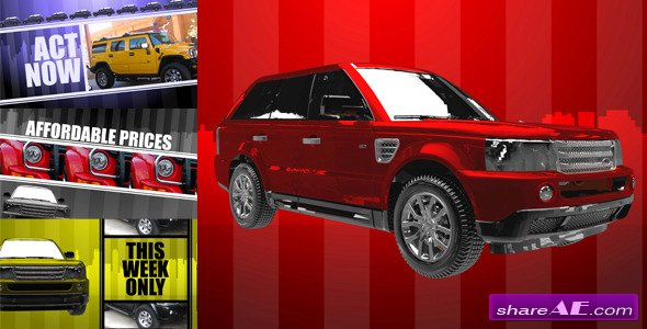 Car Commercial - After Effects Project (Videohive)