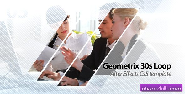 geometrix 30s loop presentation - after effects project (videohive, Presentation templates