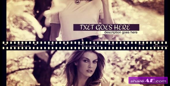 Film Fashion Slide - Projects for After Effects (VideoHive)