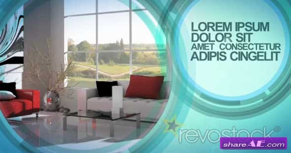Aqua 93980 - After Effects Template (Revostock)