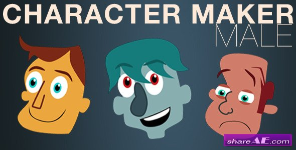 Character Maker - Male - After Effects Project (Videohive)
