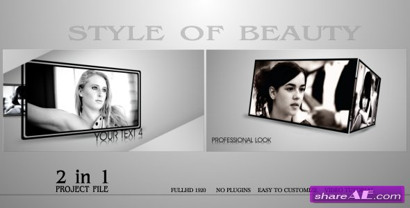 Style Of Beauty - After Effects Project (VideoHive)