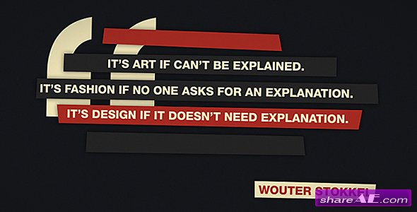 QuoteBlocks - AE CS4 Project - After Effects Template (Videohive)