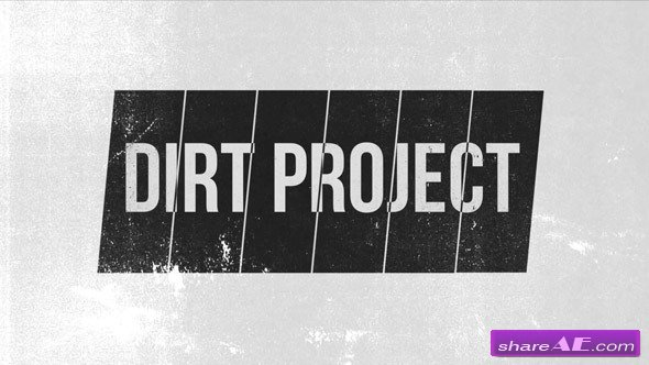 The Dirt Project - Apple Motion Template (VideoHive)