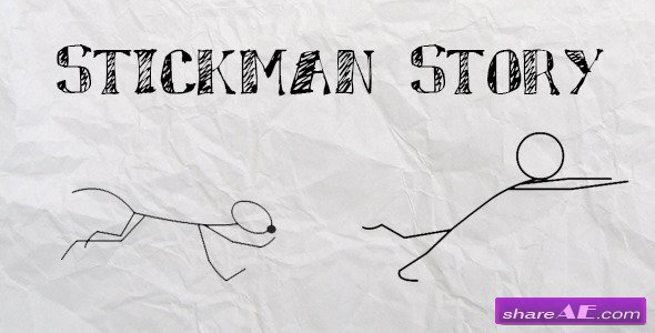 Stickman Promo Story - After Effects Project (Videohive)