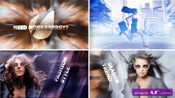 Eye-Catching Volume 1: Energy - After Effects Project (Videohive)