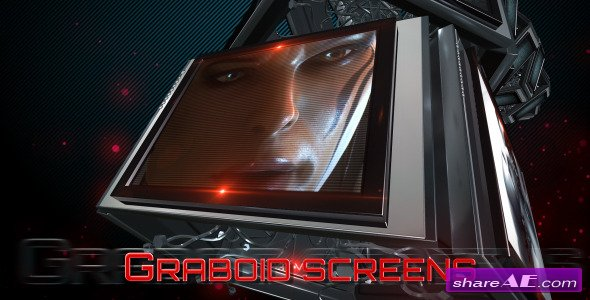 Graboid Screens - After Effects Project (Videohive)