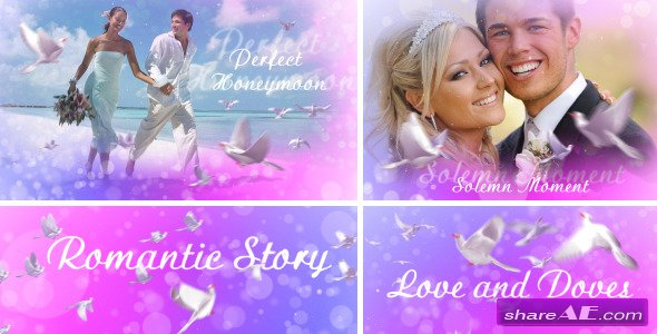 Love And Doves - After Effects Project (Videohive)