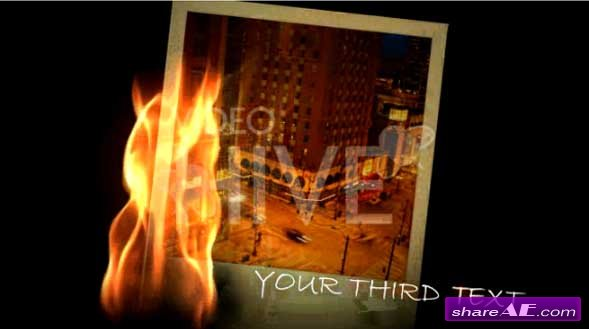Photo Clicks V2 Fire - After Effects Project (VideoHive