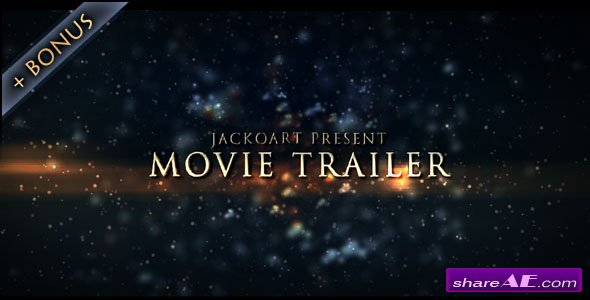 Movie Trailer 03 - After Effects Project (Videohive)