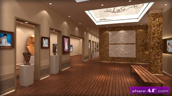 True Love Art Gallery - After Effects Project (Videohive)