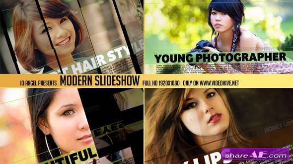 Modern Slideshow - After Effects Project (Videohive)