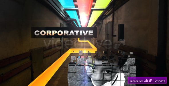 Colorful Corridor Opener - After Effects Project (Videohive)