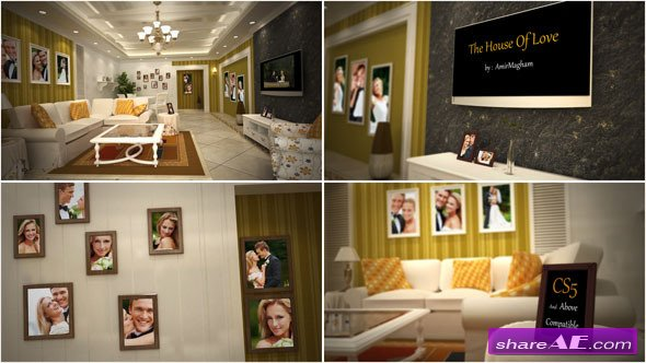 The House Of Love - After Effects Project (Videohive)