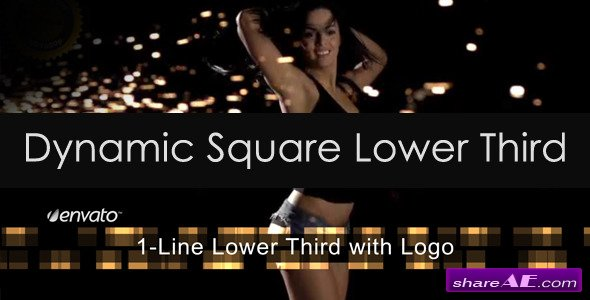 Dynamic Square Lower Third - After Effects Project (Videohive)