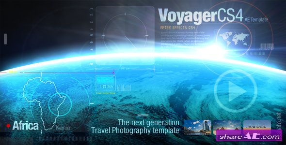 Voyager - Projects for After Effects (VideoHive)