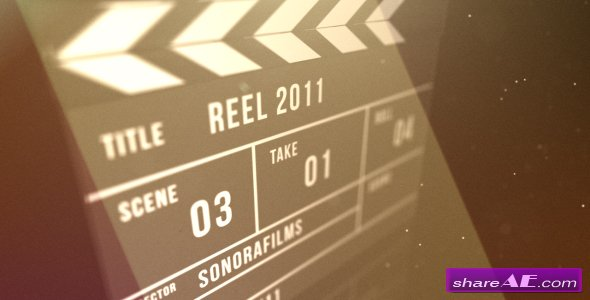Clapperboard reveal - After Effects Project (Videohive)