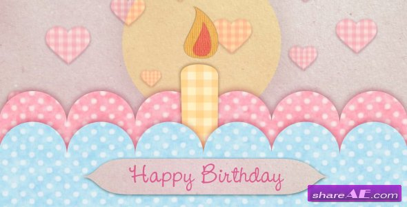 Happy Birthday Card - After Effects Project (Videohive) » Free ...