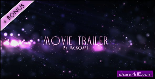 Movie Trailer 04 - After Effects Project (Videohive)