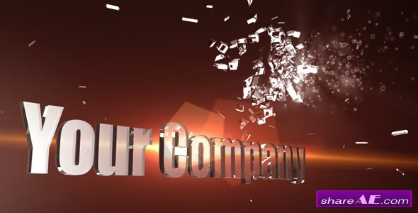 3D Shatter logo 155939 - After Effects Project (Videohive)