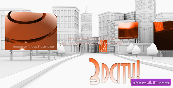 3d City animation - Fly Through Showcase 86446 - After Effects Project  (Videohive)