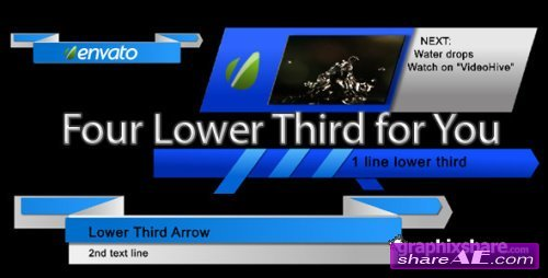 The Ribbons Lower Third 299848 - After Effects Project (Videohive)