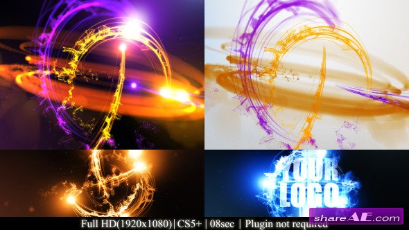 Streaks Logo Reveal II - After Effects Project (Videohive)