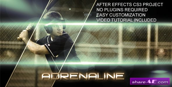 Adrenaline -  After Effects Project (VideoHive)