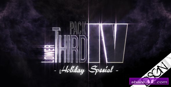 Lower Third Pack Vol.4 HOLIDAY SPECIAL 122531 - After Effects Project  (Videohive)