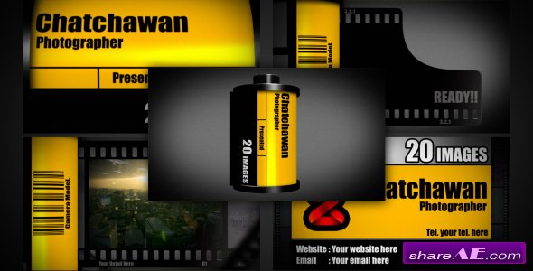 Film Slideshow - After Effects Project (Videohive)