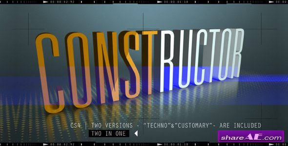 CONSTRUCTOR - After Effects Project (Videohive)