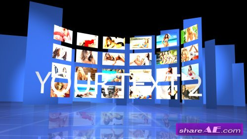 Video Wall - After Effects Projects (VideoHive)