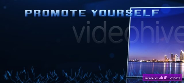 Blue Tunnel - After Effects Project (VideoHive)