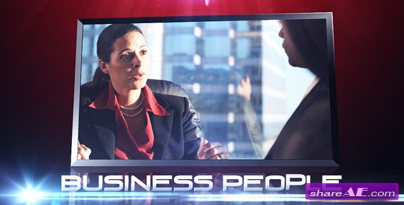 Business People -  After Effects Project (VideoHive)