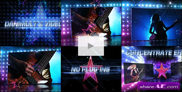 Star Dances Promo -  After Effects Project (VideoHive)