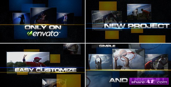 Squares PACK -  After Effects Project (VideoHive)