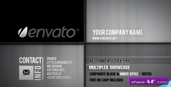 Multiplex Showcase - After Effects Project (VideoHive)